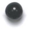 Semi-Precious 10mm Round Black Onyx